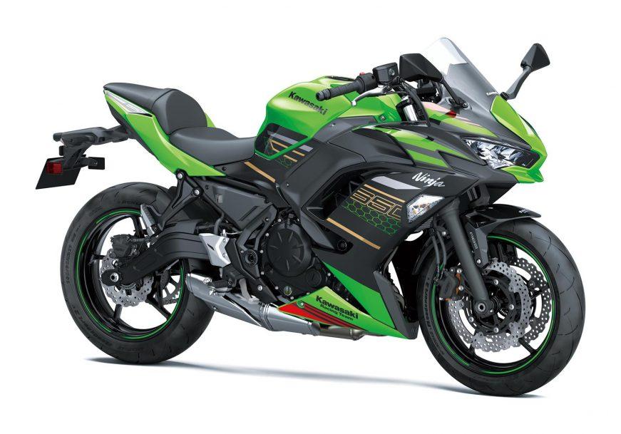 Galeria de fotos: Kawasaki Ninja 650 com novidades na